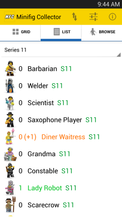 Minifig Info